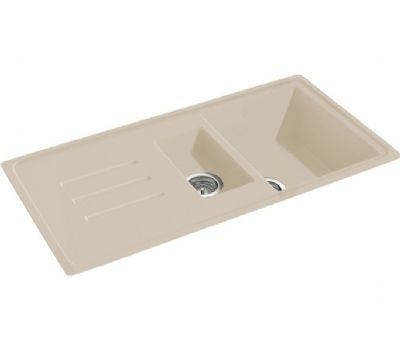 CARRON PHOENIX DEBUT 150 INSET CHAMPAGNE GRANITE SINK, 150